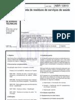 ABNT NBR 12810-2013