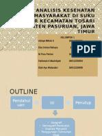 Ppt_kel.1_analisis Kesehatan Suku Tenggger