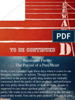 10 Passionate Purity the Purisuit of a Pure Heart