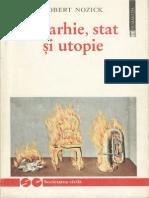 Robert Nozick-Anarhie Stat Si Utopie-Humanitas (1997)