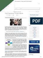 Cultura Organizacional - Conceito e Aspectos _ Portal Administração