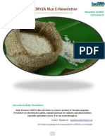 18th November ,2015 Daily Exclusive ORYZA Rice E_Newsletter by Riceplus Magazine