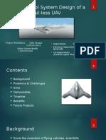 Flight Control System Design of a Tail-less UAV.pptx