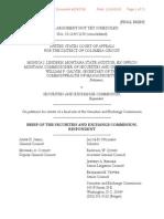 Monica Lindeen vs SEC USCA Case #15-1149 Document #1583793