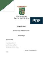 Fundamentos de Administración RECICLAJE