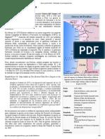 Guerra Del Pacífico -La Enciclopedia Libre