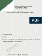 Mecanique Des Structures 1