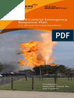 Well Control Emergency Response Plan