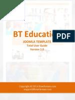 BT Education User Manual v1.0 for j3.x