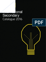 International Secondary Catalogue 2016.