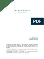 Glosario del término Producto