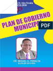 Plan de Gobierno Municipal de Miches