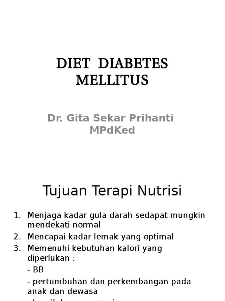 dieta kalori diabetes melitus