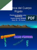 PORTICOS-ESTATICA CICLO III