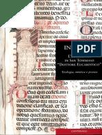 Eucaristia in San Tommaso Dottore Eucaristico. Teologia, Mistica e Poesia1- Biffi I.