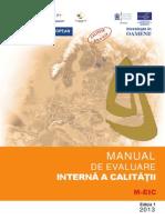 Manual Evaluare Interna a Calității