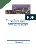 Edesur Balance Consolidado DIC 2010