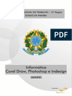 Curso Informática – Corel Draw, Photoshop e Indesign