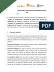 Informe para auditora SED al proyecto PEI-SIEE