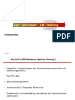 SAP Overview_L0 Training1