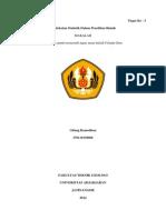 270110130068-Gilang Ramadhan-D-Pendekatan Statistik Dalam Ilmu Geologi