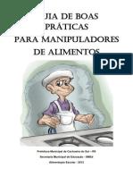 guia de boas prticas para serviços de limentação