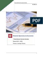 Ejercicio de Economía Aaño 2014-2015 Col San Fco de Asis