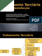 Tratamento Terciário Desinfecção Atual