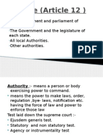 State (Article 12 )