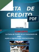 Carta de Credito. 14443