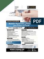 Medidas Registrales y Notariales Para Evitar El Fraude