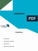 Cerámicos - ciencias de los materiales