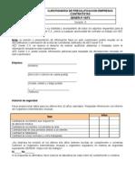 GENER-P-16-F2 Cuestionario de Precalificación Empresas Contratistas v.0