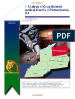 Analysis of Drug-Related Overdose Deaths in Pennsylvania, 2014