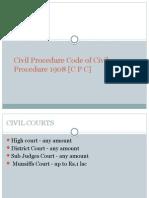 Civil Procedure Code of Civil Procedure 1908 [