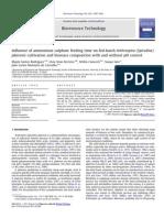 Influence of Amonium Sulphure