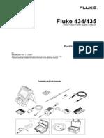 Fluke 434/4335 Puesta en funioanamiento
