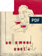 1933 Hollywood Cocktails