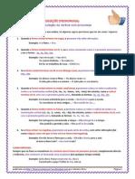 Pronomes - Conjugação Pronominal - Regras e Exercícios (Blog7 10-11)