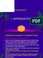 1 Crisis Management Introduction