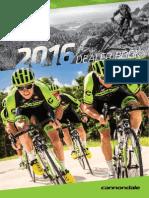 CANNONDALE -  Catalogo Bikes 2016