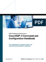 BGP-4 Command and Configuration Handbook