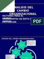Analisis Del Cambio Organizacional