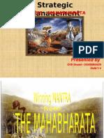 GVR SHASTRI - Mahabharat - A Complete Coporate Managemnt