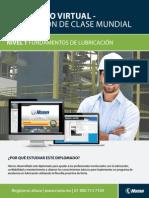 Diplomado en Lubricacion de Clase Mundial en Linea Nivel 1