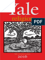 Yale University Press Religion 2016 Catalog
