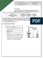 TCs 1et 2  DL chimie