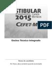 PROVA CEFET-MG 2015