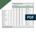 Atividade Excel