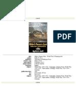 Hitlers Panzers East-World War II Reinterpreted